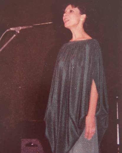 Esther Ofarim in Tel Aviv, 1977 - foto (c) by Reto Maag
