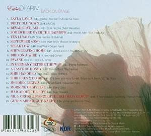 Esther Ofarim - Back on Stage - CD 2005 - backside of the CD