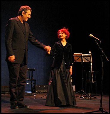 Yoni Rechter & Esther Ofarim at the Jüdische Kulturtage - foto © by Salomon Harush