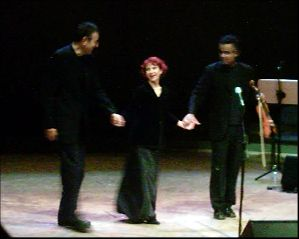 Yoni Rechter, Esther Ofarim, Michail Pawaletz @ concert in Dortmund, foto © by Conny Drees