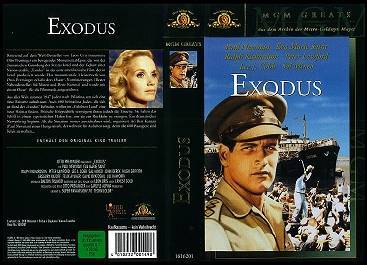 Cover of the german Video of Exodus