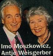 Imo Moszkowicz and Antje Weisgerber