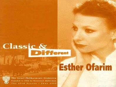 Esther Ofarim - Classic and diferent