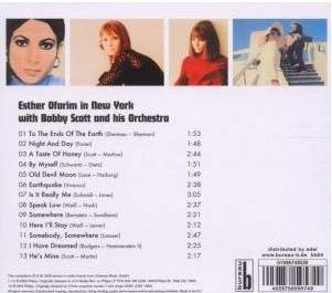 Esther in New York - back of the CD