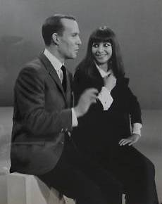 Esther Ofarim with Tom Smothers
