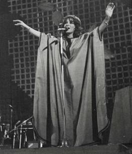 Esther Ofarim at the Oriental Song Festival, 1972 - foto (c) Amitay Lavon