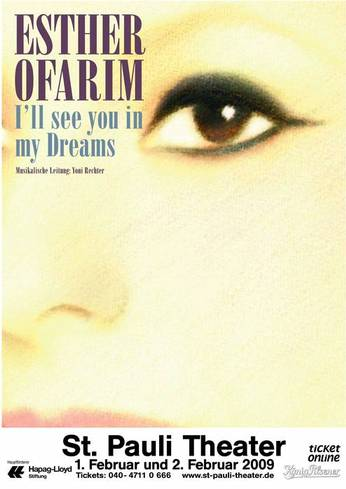 Esther Ofarim - I'll see you in my dreams