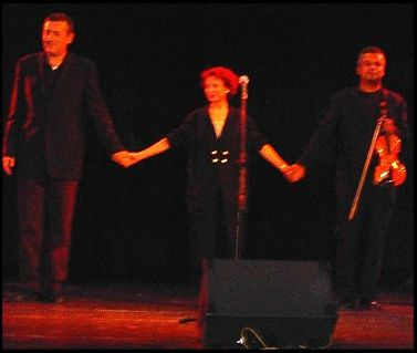 Yoni Rechter, Esther Ofarim, Michail Pawaletz @ Prague 2004 - Foto taken by Christian Woile