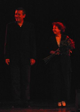 Yoni Rechter & Esther Ofarim @ Prague 2004 - Foto © by Christian Woile