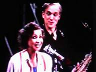 Esther Ofarim (with Ulrich Tukur) singing Swanee in Ghetto 1984