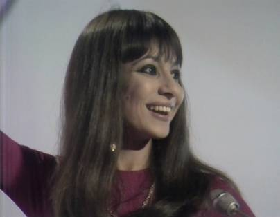 "Esther Ofarim at ""This is Tom Jones"", 1969"
