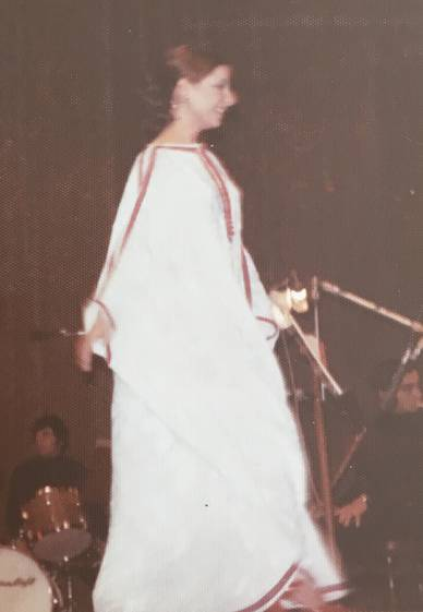 Esther Ofarim in Zurich 1973 - foto (c) Reto Maag